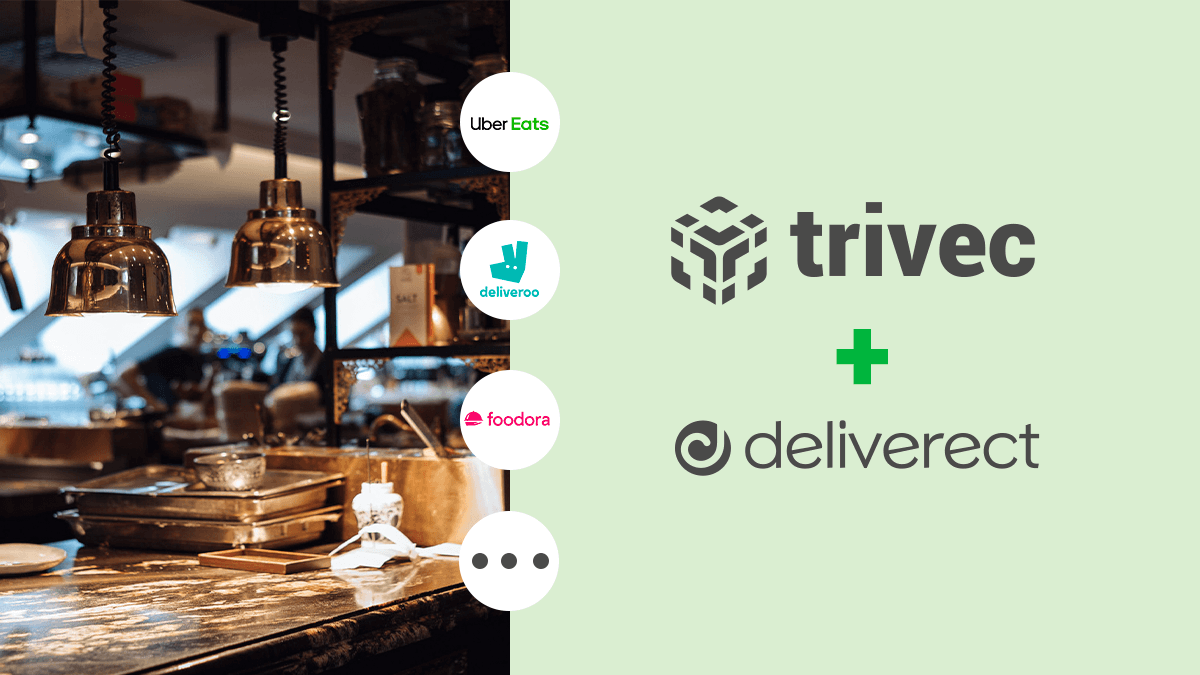 Trivec partners with Deliverect