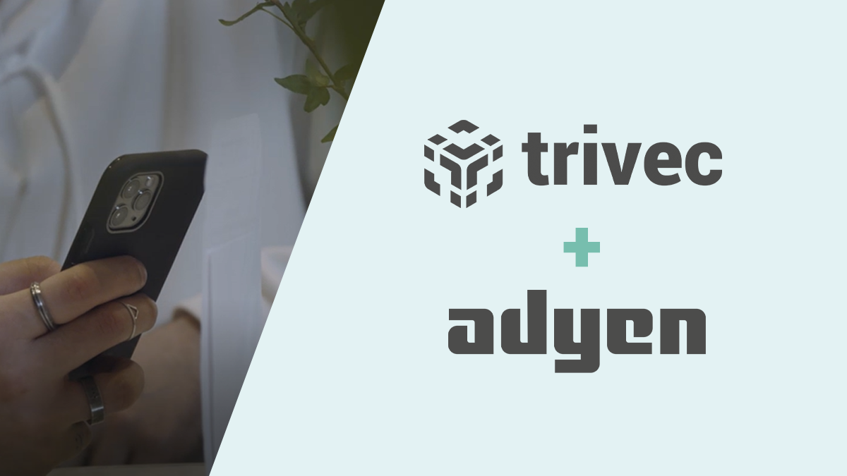 Trivec en Adyen gaan partnership aan om restaurants te helpen digitaliseren